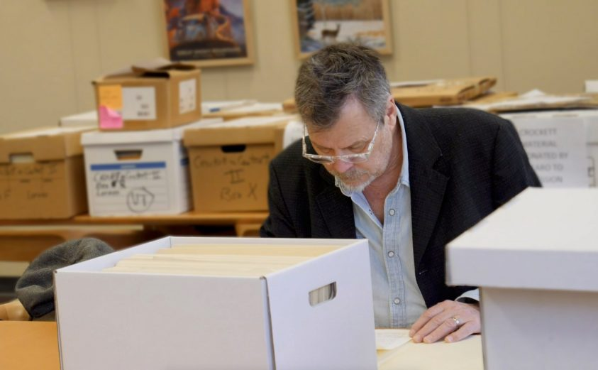 R.B. Morris in the archives