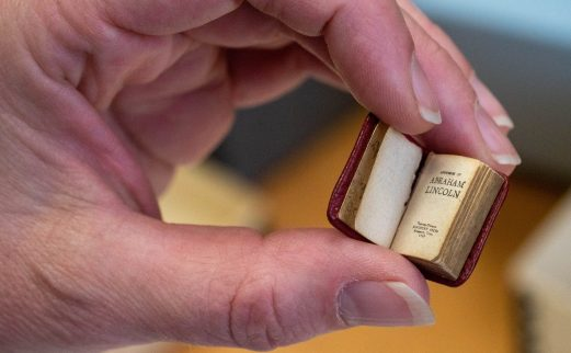 Tiny volume of Abraham Lincoln book