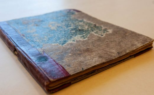 Book from Cherokee collection