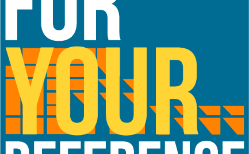 For Your Reference event logo