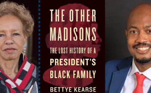 Author Bettye Kearse, her book, and Dr. Robert Bland