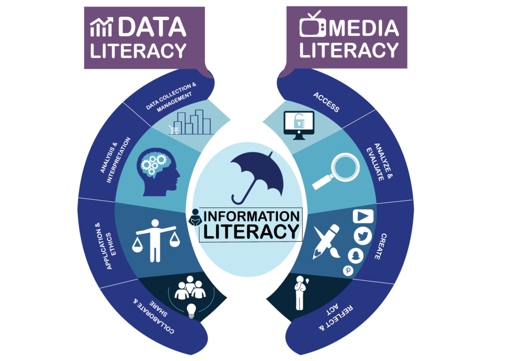 Data and Media Literacy Infographic