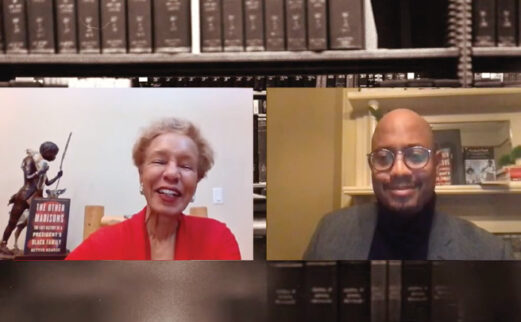 Image of author Bettye Kearse and Dr. Robert Bland at event