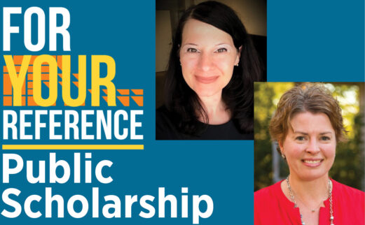 For Your Reference Logo image with Jennifer Mercieca and Amy Young