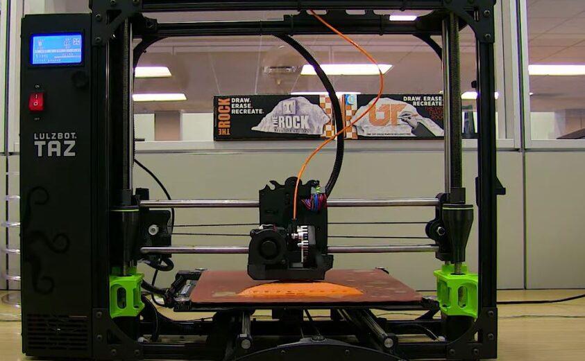 The Lulzbot Taz 3D Printer
