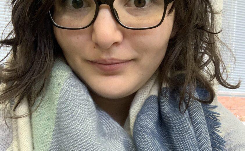 Photo of Zoe Bastone, member of Pendergrass library team