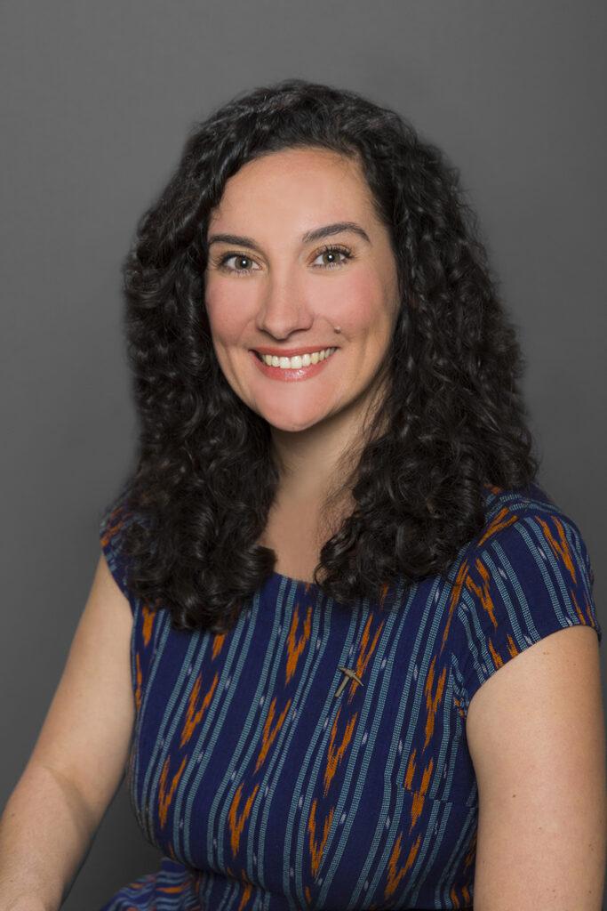 Photograph of Sarah De Los Santos Upton is an assistant professor at the University of Texas at El Paso