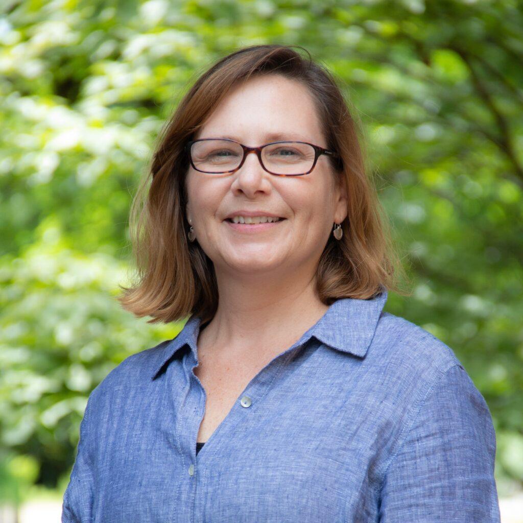Photograph of Allison McKittrick, member of UT Libraries team