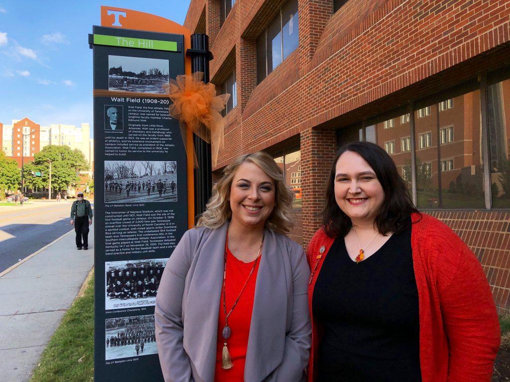 Photograph image of Becky Becker and Alesha Shumar