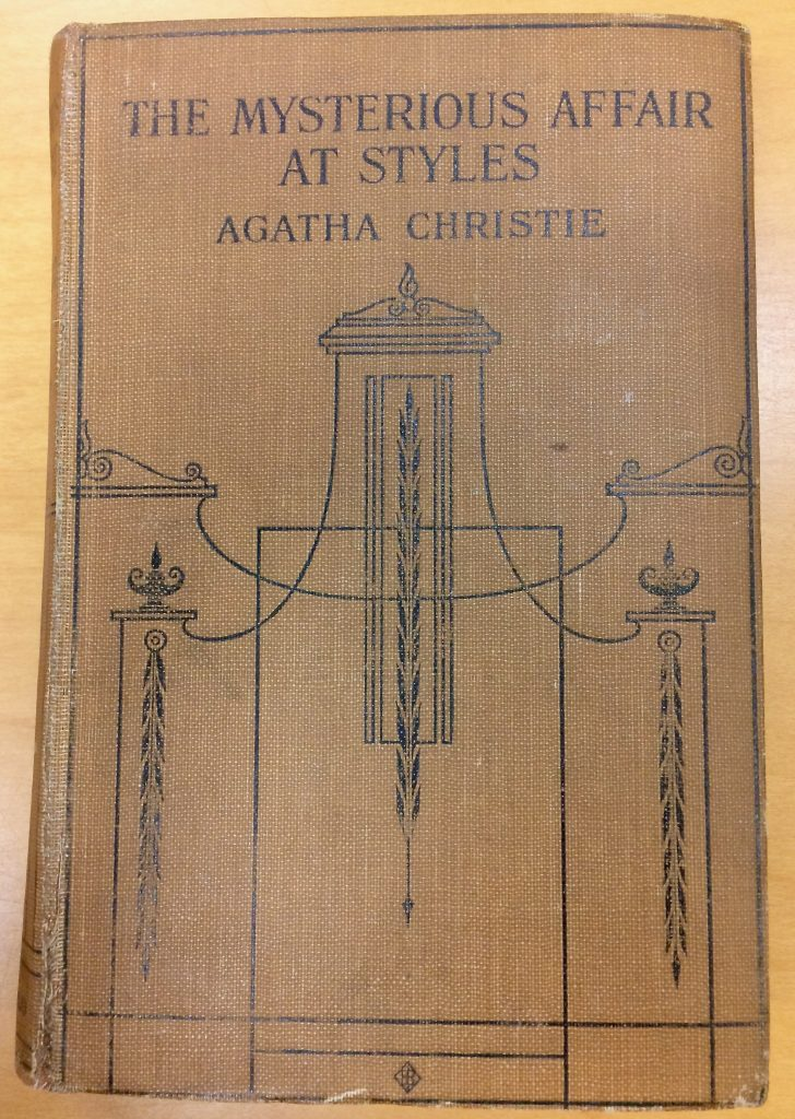 Photograph of The Mysterious Affair at Styles Cover by Agatha Christie