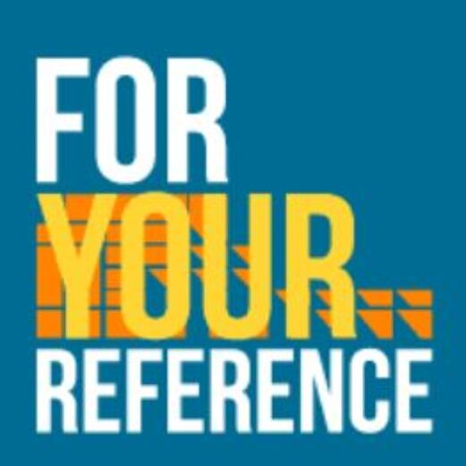 For Your Reference Livestream Logo